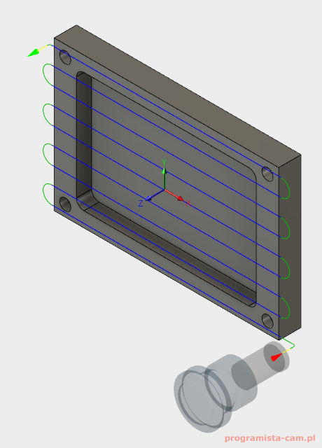 fusion 360 pass direction