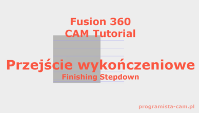 finishing stepdowns fusion 360