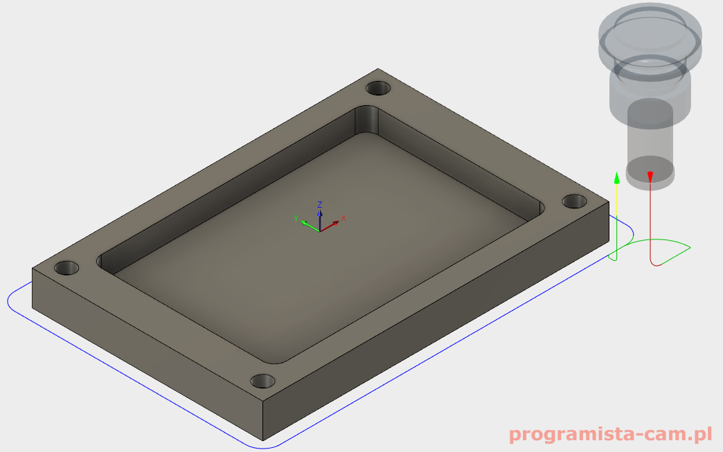 lead-out tool fusion 360