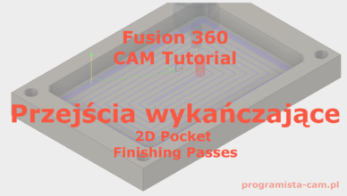 fusion 360 finishing passes