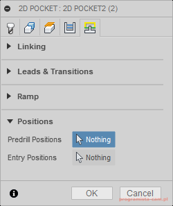 fusion 360 positions