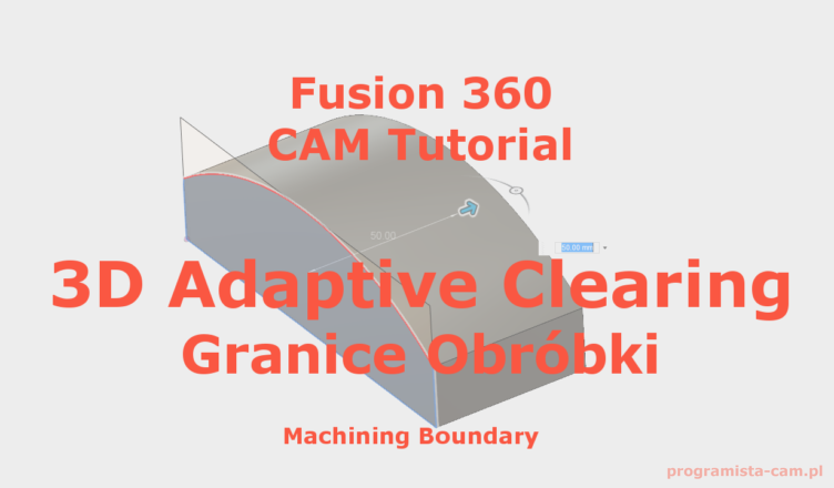 fusion 360 machining boundary