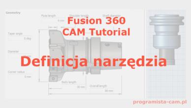 definicja narzędzia fusion 360
