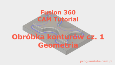fusion 360 obróbka konturów