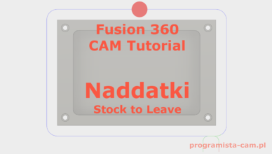 stock to leave fusion 360
