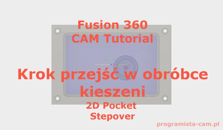 2d pocket maximum stepover