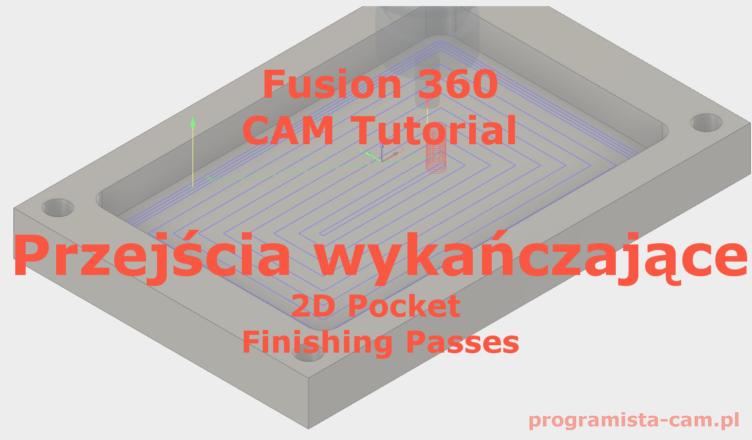 fusion 360 finishing passes