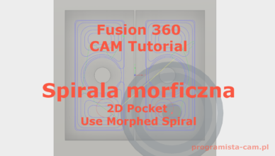 use morphed spiral fusion 360