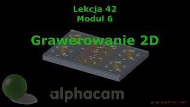 grawerowanie alphacam
