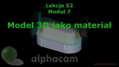 model 3d jako materiał