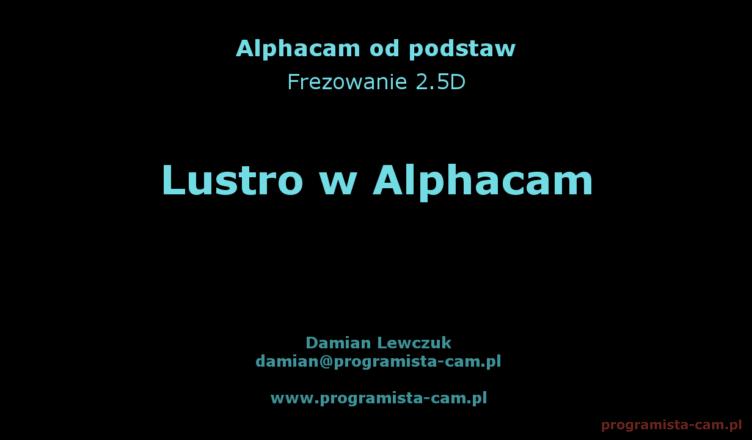 lustro alphacam