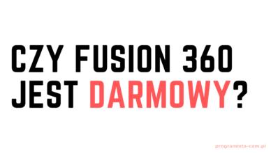 fusion 360 darmowy